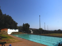 Small salt water pool (only one in JHB)