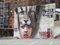 Street art is to be found everywhere